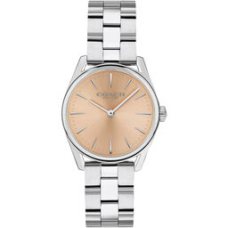 Coach Ladies Modern Luxury Stainless Steel Watch