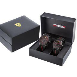 Scuderia Ferrari Red Rev Gift Set