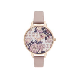 Olivia Burton Wildflower Vegan Rose & Pale Rose Gold