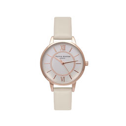 Montre Nude et or rose Wonderland