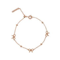 Olivia Burton Bow and Ball Bracelet Rose Gold