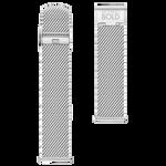 42mm Movado Connect 2.0 Mesh Bracelet