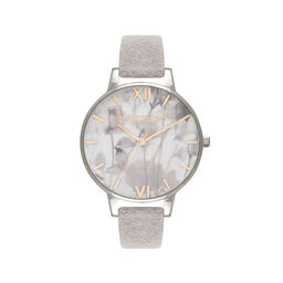 Olivia Burton Eco Friendly Grey Lilac, Rose Gold & Silver