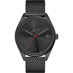 Lacoste Men's Heritage Black Plated Watch