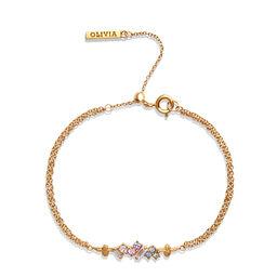 Olivia Burton Rainbow Bee Women's Chain Bracelet