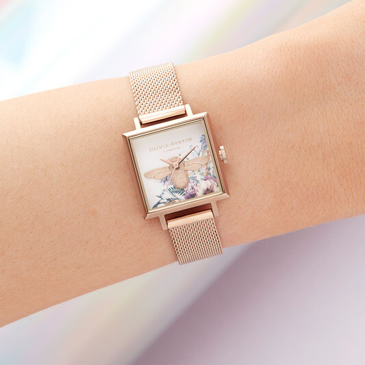 Olivia Burton London Enchanted Garden Women's Watch , 23mm