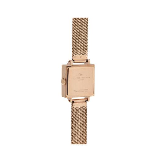 Olivia Burton London  Square Dial 3D Bee Women's Watch, 23mm