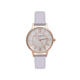 Olivia Burton Wonderland Silver & Rose Gold Watch