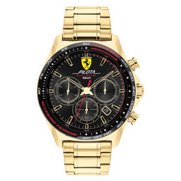 Scuederia Ferrari Pilota Evo Men's 44mm Watch