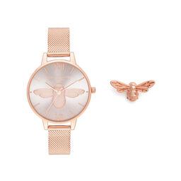 Olivia Burton 3D Bee Set Women's 34mm Watch