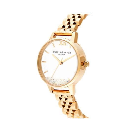 Olivia Burton Wishing Watch, Gold Bracelet