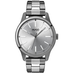 HUGO Men's #DARE Stainless Steel Watch