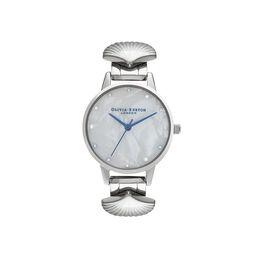 Olivia Burton Mermaid Watch Silver & Blue