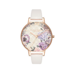 Olivia Burton Glasshouse Blush & Rose Gold Watch