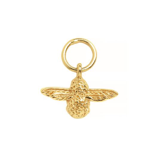 Olivia Burton 3D Bee Huggie Hoop Earrings Gold
